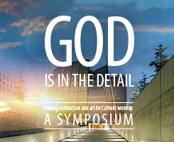 Promotional image for the Liturgical Architecture and Art Symposium