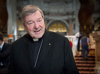 Cardinal George Pell Photo by Fiona Basile